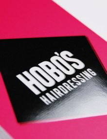 HOBOS Hairdressing Business Card
