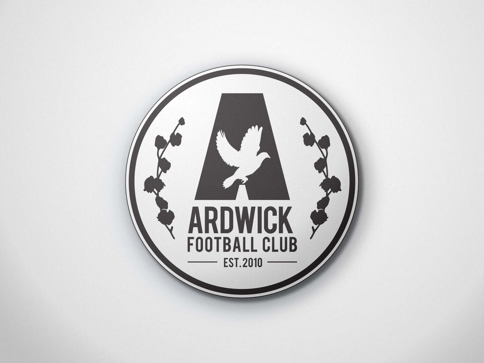 Ardwick FC football badge design