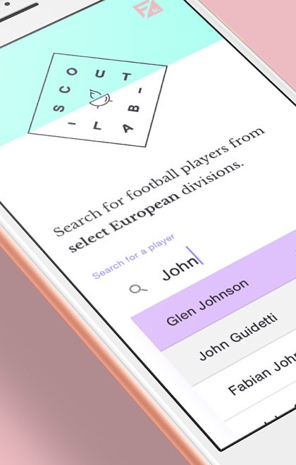 ScoutLab Football Recommendation tool for Scouts